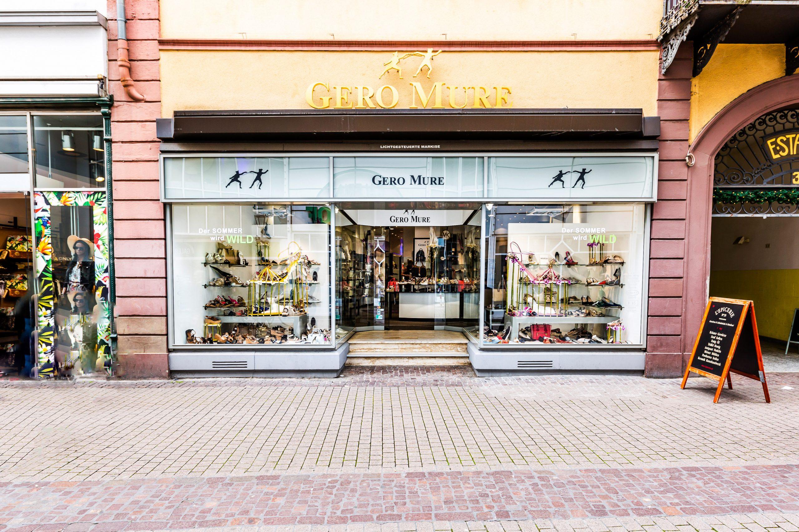 Unser Schuhgeschäft in Heidelberg von GERO MURE. Das Schuhgeschäft ist zu finden in der Hauptstraße 35