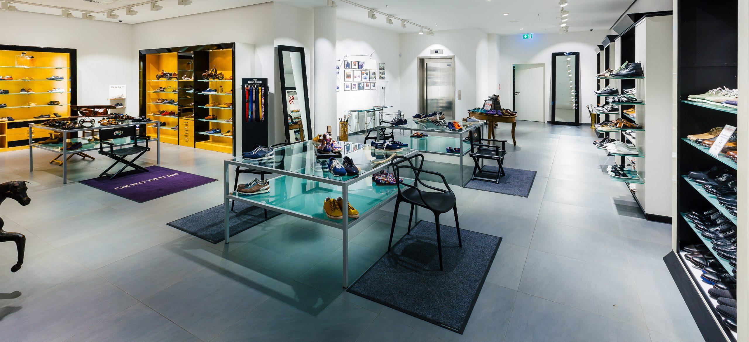 GERO MURE in P7 ist eines unserer Schuhgeschäfte in Mannheim. Finden Sie hier den Traumschuh zu Ihrem Outfit in Mannheim.